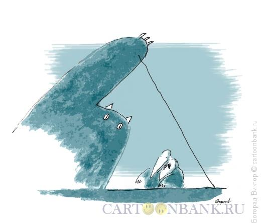 Карикатура: Пианист, Богорад Виктор
