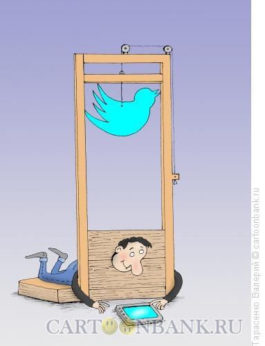 Карикатура: Выхода нет, Тарасенко Валерий