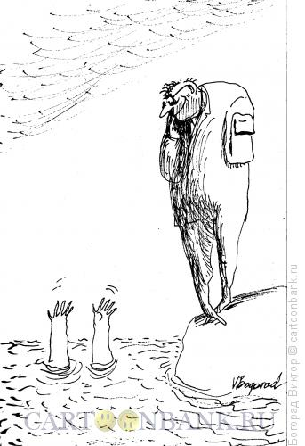 Карикатура: Колебание, Богорад Виктор