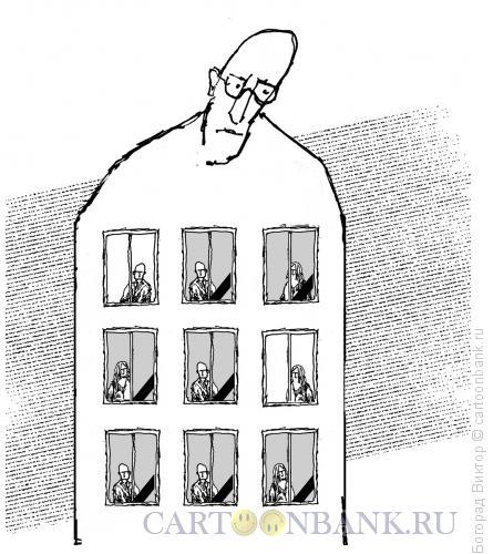 Карикатура: Потери, Богорад Виктор