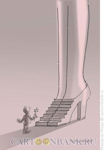 Карикатура: кумир, Макаров Игорь
