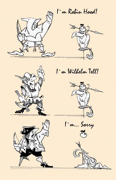 Карикатура: i`m..., Kapry