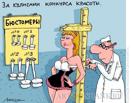 Карикатура: Конкурс красоты, Воронцов Николай