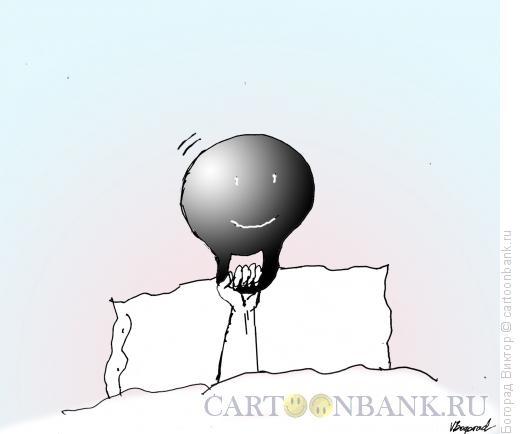 Карикатура: Тяжелая голова, Богорад Виктор