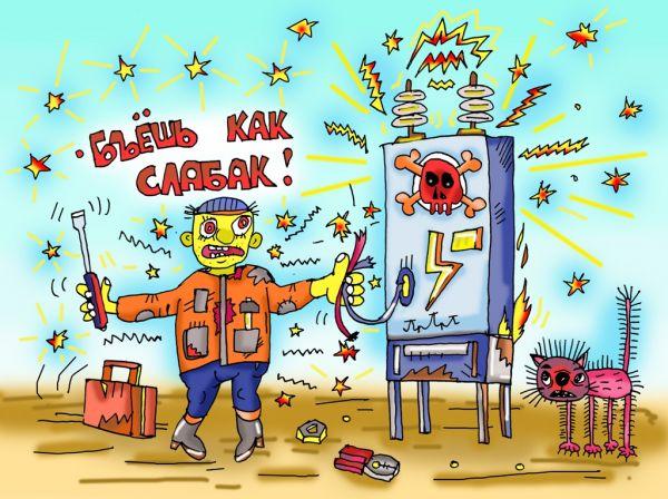 Карикатура: а мне всё мало!!!, leon2008