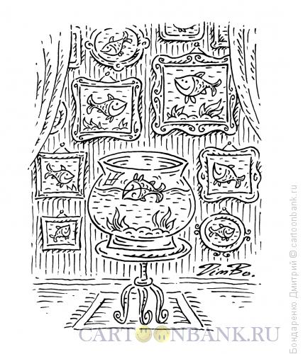 Карикатура: Жизнь перевернулась, Бондаренко Дмитрий