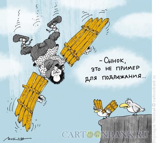 Карикатура: Пример, Воронцов Николай