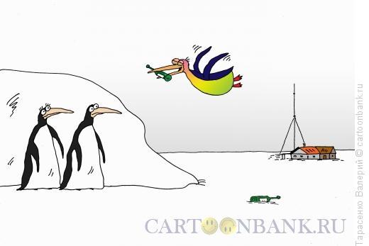 Карикатура: Красивый полет, Тарасенко Валерий