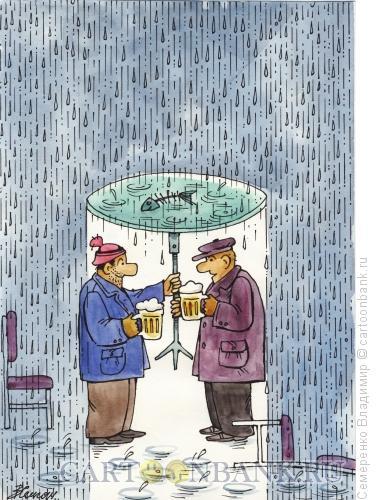 Карикатура: Задушевный разговор, Семеренко Владимир