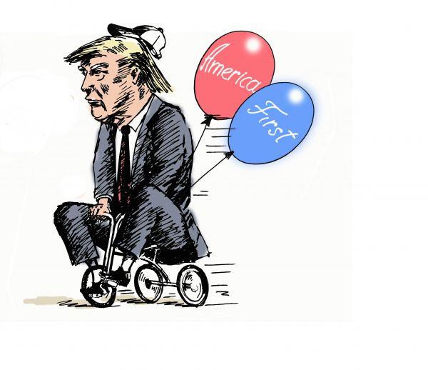 Карикатура: Дайте мужику велосипод.