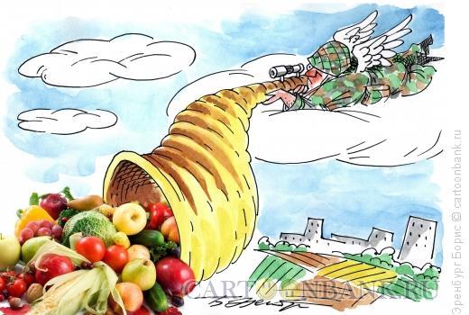Карикатура: рог изобилия, Эренбург Борис