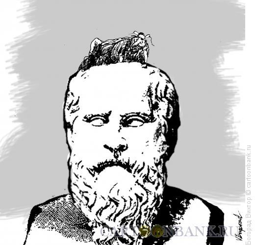 Карикатура: Лентяй, Богорад Виктор
