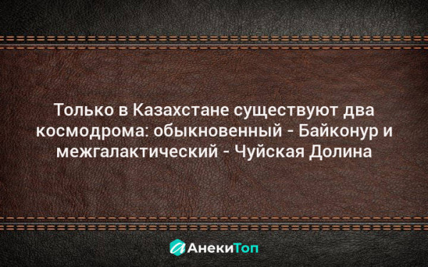Мем: Два космодрома в Казахстане, Nektus