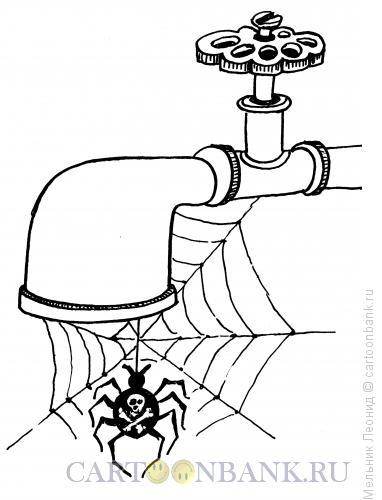 Карикатура: Смерть!!!!, Мельник Леонид