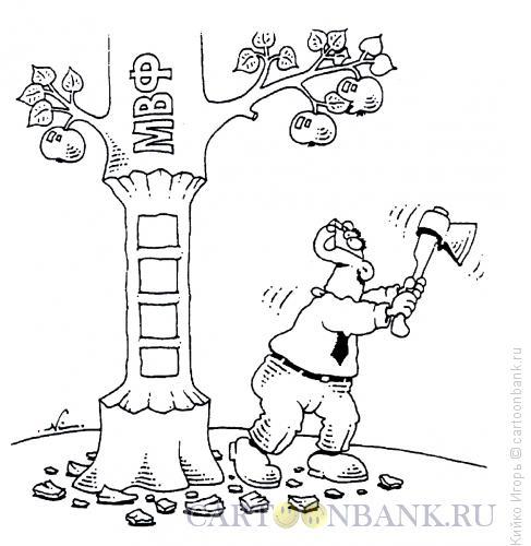 Карикатура: Лестница, Кийко Игорь