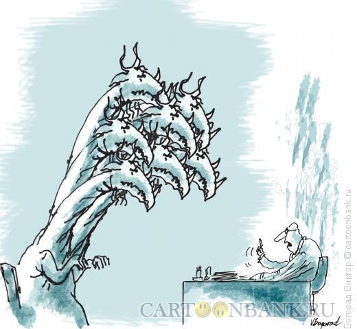 Карикатура: Выволочка, Богорад Виктор