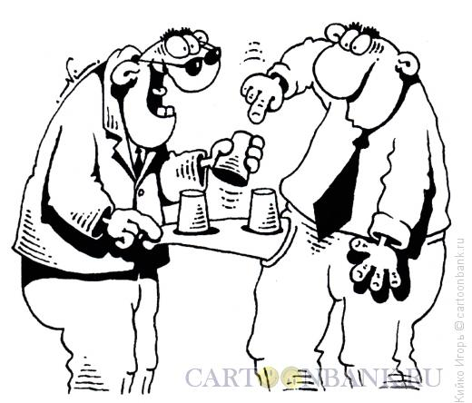 Карикатура: На кармане, Кийко Игорь