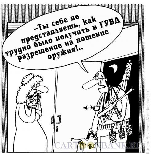 Карикатура: Разрешение, Шилов Вячеслав