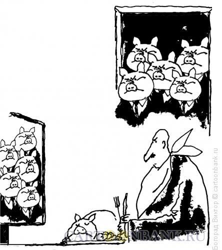 Карикатура: Налет, Богорад Виктор