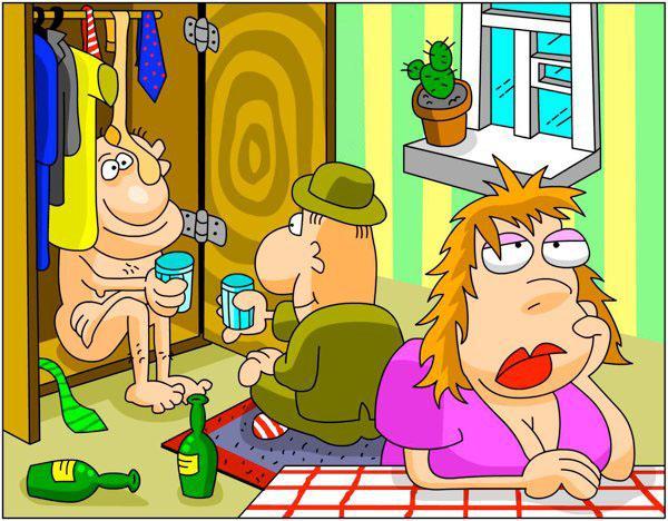 Мем: Переходный возраст мужчин - это когда одной бутылки уже мало, а одной бабы уже много...