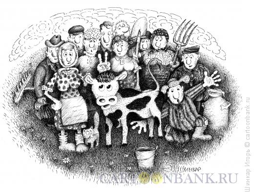Карикатура: Надежда, Шинкар Игорь