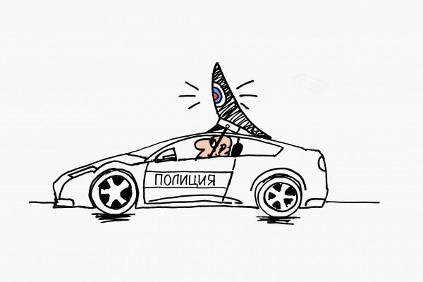 Карикатура: Шышка, osipovva