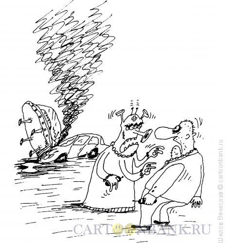 Карикатура: Разборка, Шилов Вячеслав