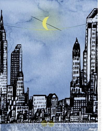 Карикатура: Канатоходец 2, Богорад Виктор