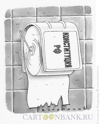 Карикатура: Конституция, Степанов Владимир