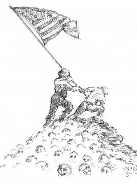 Карикатура: Апофеоз демократии, Дмитрий Форвардер