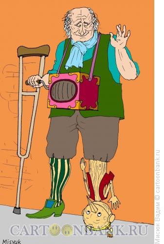 Карикатура: кака парло, Мисюк Вадим