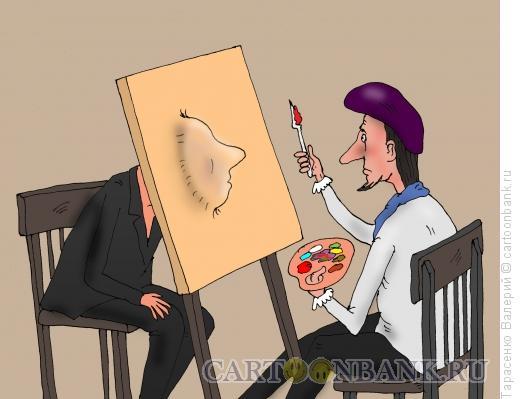 Карикатура: Портрет, Тарасенко Валерий