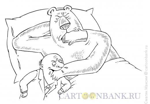 Карикатура: Находчивый чиновник, Смагин Максим
