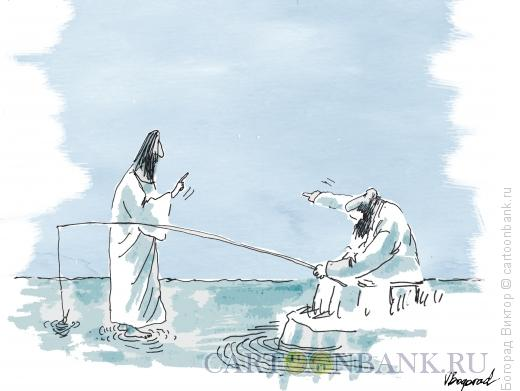 Карикатура: Помеха, Богорад Виктор