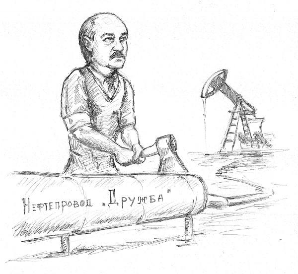 Карикатура: Дружба дружбой, а нефть врозь, Дмитрий Форвардер