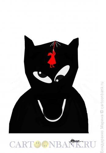 Карикатура: Красная шапочка и Волк, Бондаренко Марина