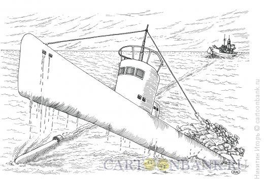 Карикатура: Торпеда, Никитин Игорь