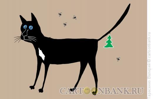 Карикатура: Старый кот, Тарасенко Валерий