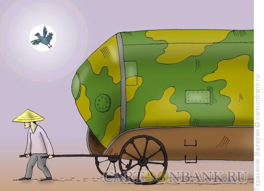 Карикатура: Ракетоноситель, Тарасенко Валерий