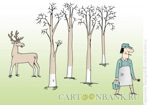 Карикатура: Малярия, Тарасенко Валерий