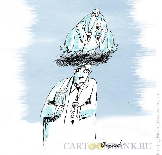 Карикатура: Навязчивые идеи, Богорад Виктор