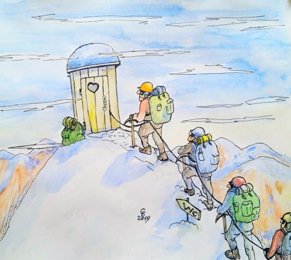 Карикатура: Высота, Serrega