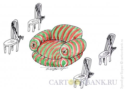 Карикатура: телохранители, Эренбург Борис