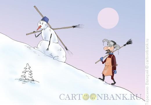 Карикатура: Голгофа, Тарасенко Валерий