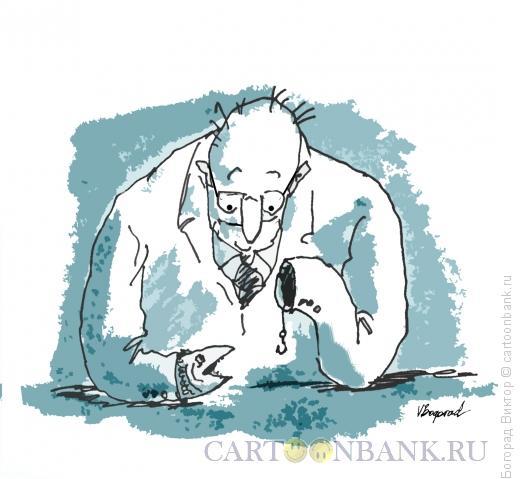Карикатура: Ловля, Богорад Виктор