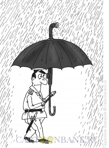 Карикатура: На дне, Тарасенко Валерий