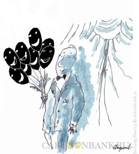 Карикатура: Актер, Богорад Виктор