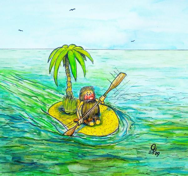Карикатура: Путь домой, Serrega