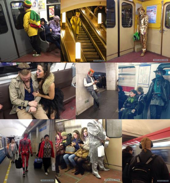 Мем: Модники в метро, Гексоген