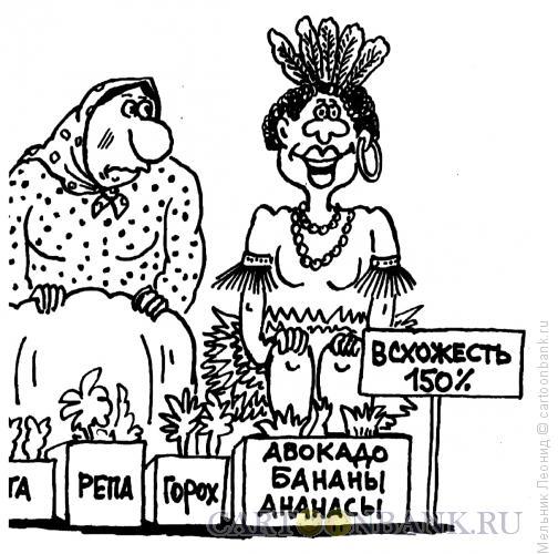 Карикатура: Чунга-чанга, Мельник Леонид